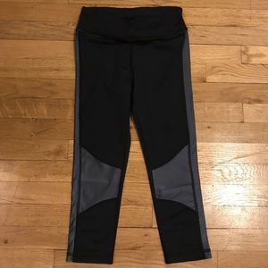 NWOT Alala xs cropped tights with stripe